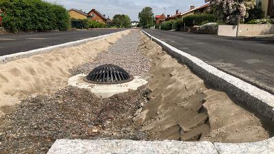 Åtgärder för att minska översvämningsrisk i Bjuvs kommun
